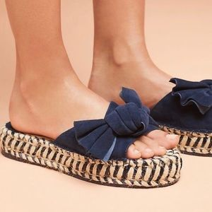 J/slides ritsy bow espadrille sandal